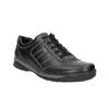 Pánské kožené tenisky bata, černá, 824-6921 - 13