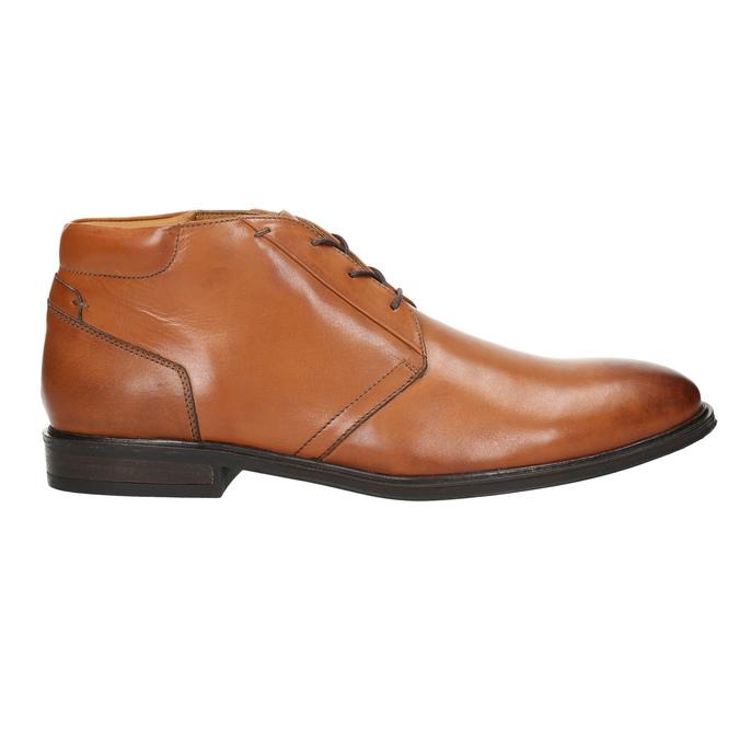Pánská kožená Ombré obuv bata, hnědá, 826-3913 - 15