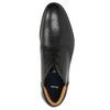Kožená pánská kotníčková obuv bata, černá, 824-6913 - 26
