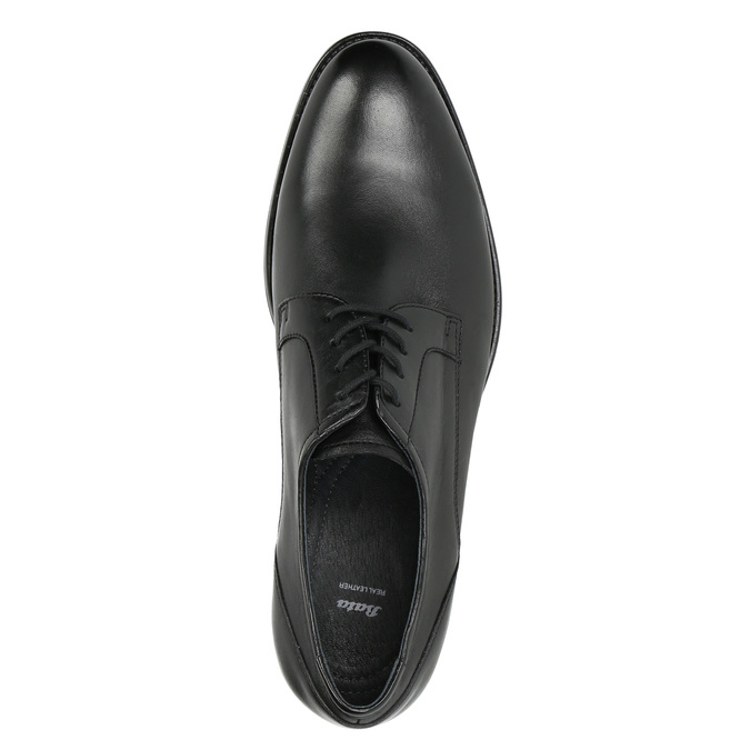 Pánské polobotky v Derby stylu bata, černá, 824-6618 - 26