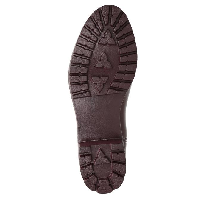 Kotníčkové dámské holínky bata, červená, 592-5400 - 17