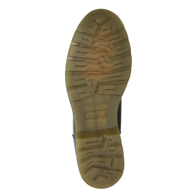 Kožená dámská Chelsea obuv bata, černá, 594-6680 - 17