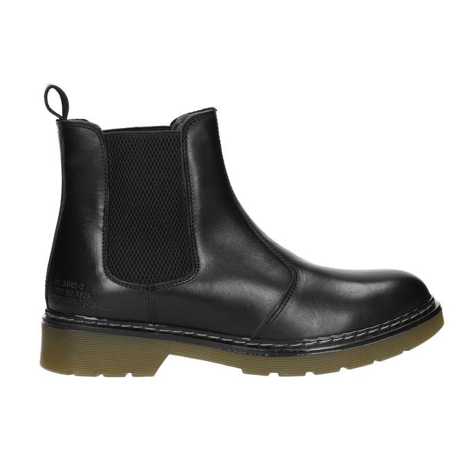 Kožená dámská Chelsea obuv bata, černá, 594-6680 - 26