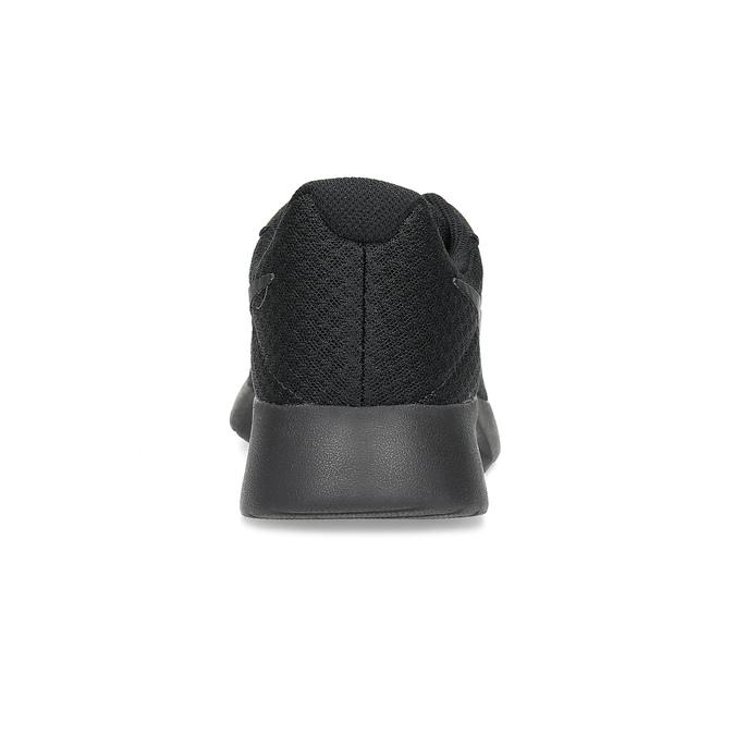 Černé dámské tenisky sportovního střihu nike, černá, 509-0157 - 15