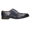 Modré kožené pánské polobotky bata, modrá, 826-9914 - 15