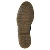 Kožená dámská kotníčková obuv bata, černá, 594-6681 - 17