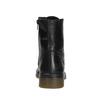 Kožená dámská kotníčková obuv bata, černá, 594-6681 - 16