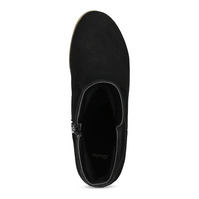 Dámské kotníčkové kozačky bata, černá, 599-6614 - 17