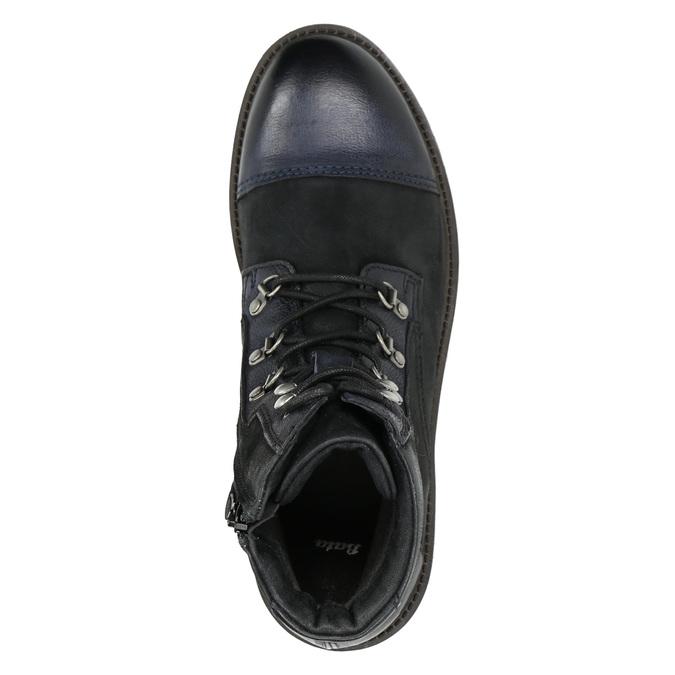 Pánská kotníčková obuv bata, černá, 896-6664 - 26