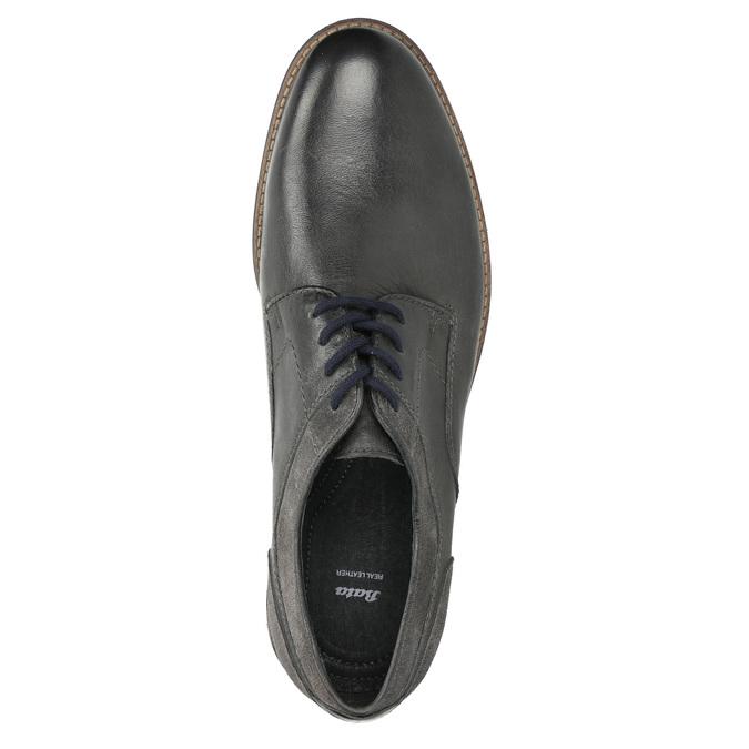 Pánské ležérní polobotky bata, šedá, 826-2610 - 26