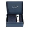 Sada kravaty, kapesníčku a manžetových knoflíčků n-ties, modrá, 999-9298 - 13