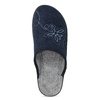 Dámská domácí obuv modrá bata, modrá, 579-9621 - 17
