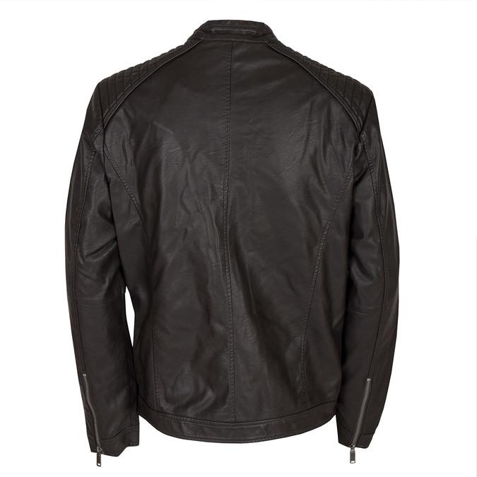 Koženková pánská bunda bata, hnědá, 971-4103 - 26