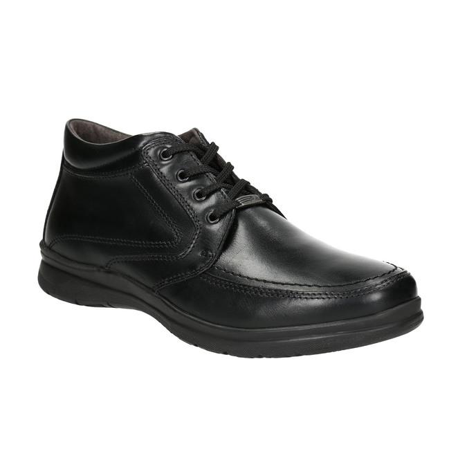 Pánská zimní obuv comfit, černá, 894-6686 - 13