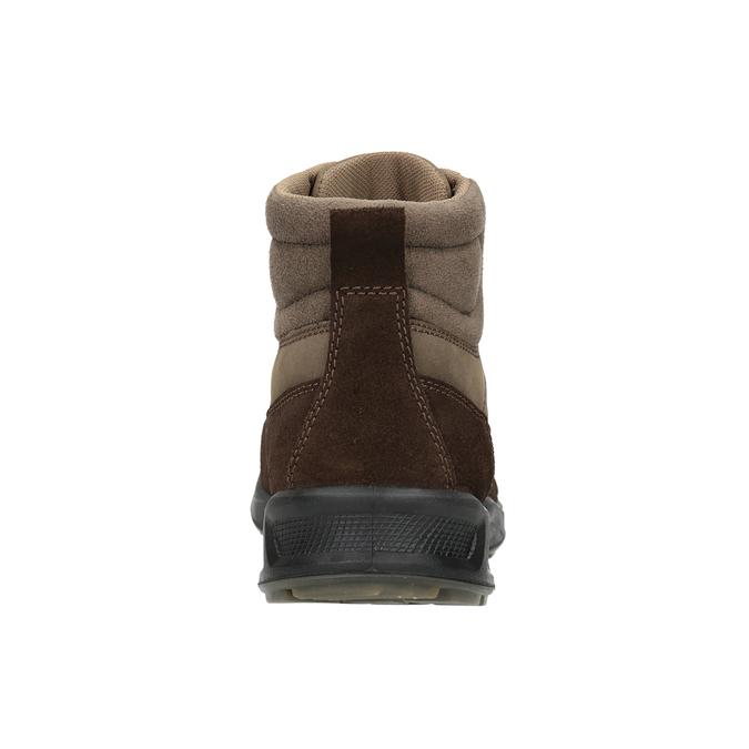 Kožená pánská obuv weinbrenner, hnědá, 846-4647 - 16