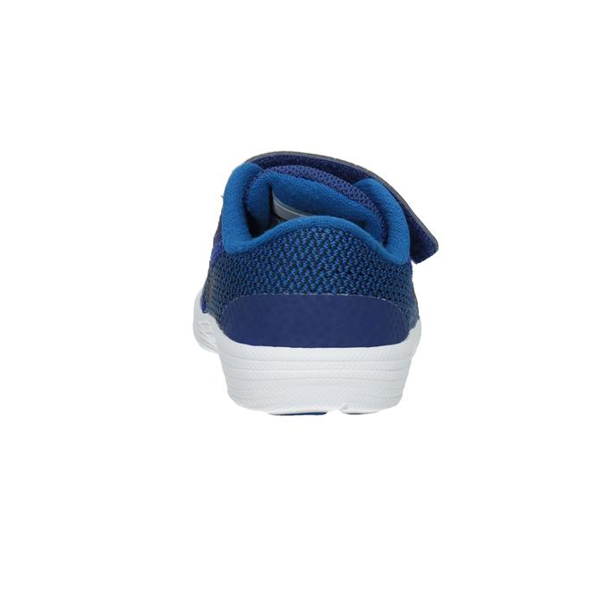 Modré dětské tenisky nike, modrá, 109-9132 - 16