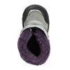 Dívčí zimní obuv s kožíškem bubblegummers, šedá, 193-2601 - 26