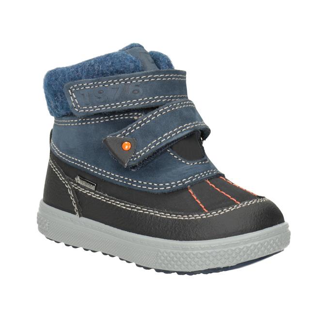 Dětská zimní obuv z kůže primigi, modrá, 196-9006 - 13