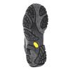 Kožená kotníčková obuv v Outdoor stylu merrell, černá, 806-6569 - 17