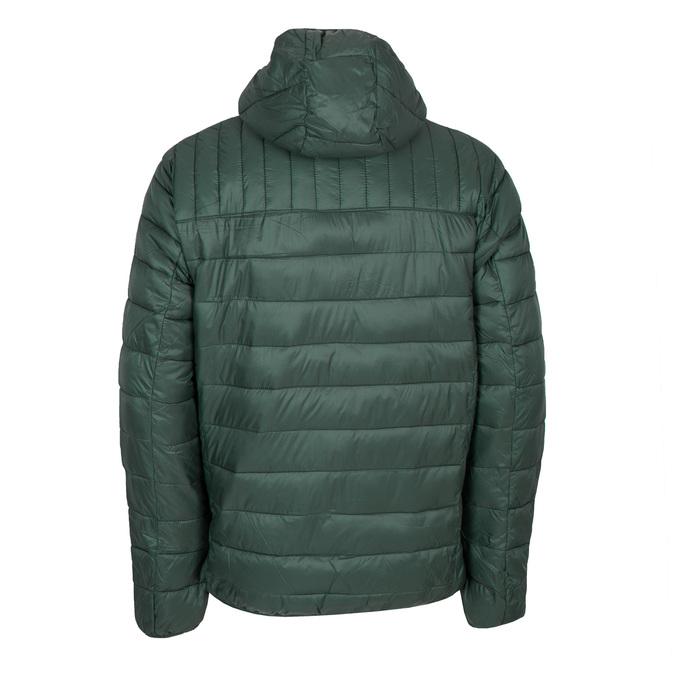 Pánská prošívaná bunda s kapucí bata, zelená, 979-7143 - 26