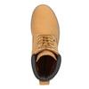 Kožená kotníčková obuv na výrazné podešvi weinbrenner, hnědá, 596-4664 - 15
