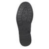 Dívčí kotníčková obuv se třpytkami mini-b, černá, 391-6395 - 17