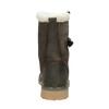 Dámská zimní obuv s kožíškem weinbrenner, khaki, 594-2455 - 16