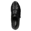 Kožené tenisky na suché zipy vagabond, černá, 514-6018 - 15