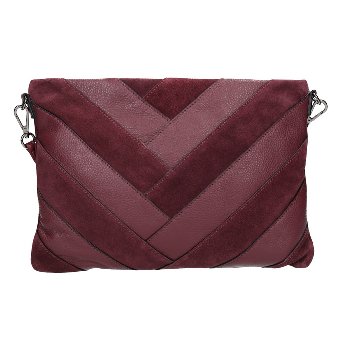 Vínová Crossbody kabelka bata, červená, 964-5265 - 26