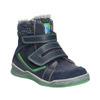 Dětská zimní obuv se zateplením bubblegummers, modrá, 114-9611 - 13