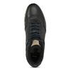 Pánské kožené tenisky se zateplením bata, černá, 846-6646 - 17