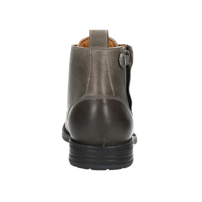 Kotníčková pánská Ombré obuv bata, šedá, 896-2684 - 17