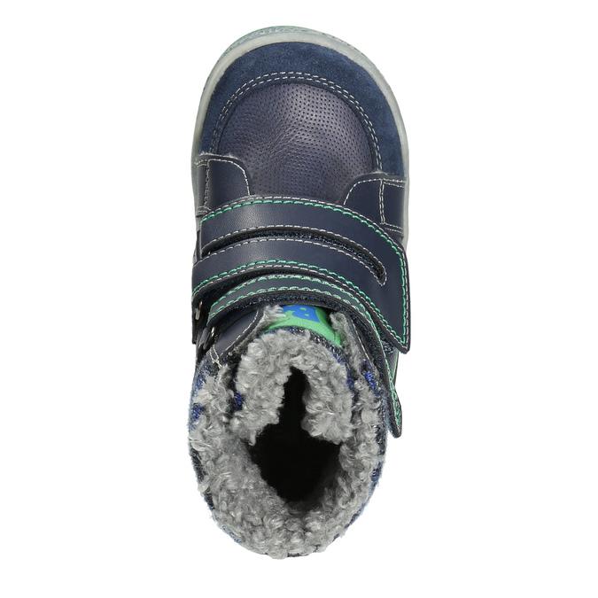 Dětská zimní obuv se zateplením bubblegummers, modrá, 114-9611 - 26