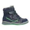Dětská zimní obuv se zateplením bubblegummers, modrá, 114-9611 - 15