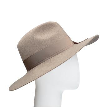 Dámský vlněný klobouk tonak, béžová, 909-8651 - 13