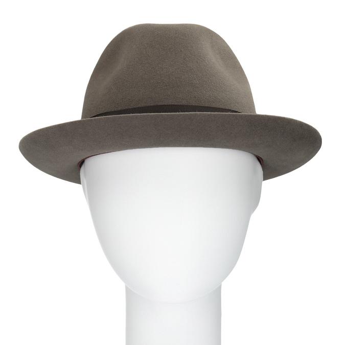 Hnědý klobouk s mašlí tonak, hnědá, 909-3648 - 16