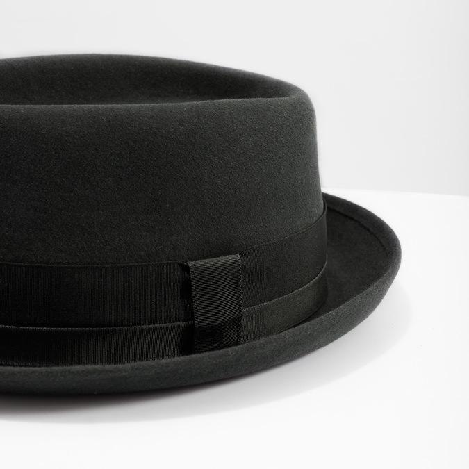 Pánský klobouk se stuhou tonak, šedá, 909-2647 - 14