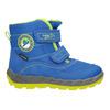 Dětská zimní obuv s výraznou podešví superfit, modrá, 293-9022 - 26
