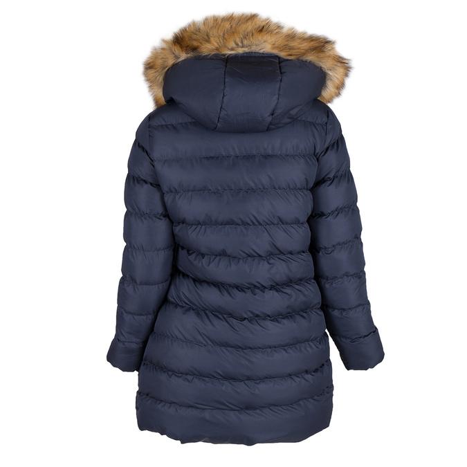 Dámská zimní bunda s kožíškem bata, modrá, 979-9134 - 26