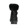 Dámská zimní obuv s kožíškem comfit, černá, 696-6623 - 17