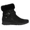 Dámská zimní obuv s kožíškem comfit, černá, 696-6623 - 15