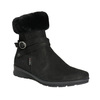 Dámská zimní obuv s kožíškem comfit, černá, 696-6623 - 13
