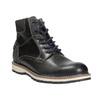 Kotníčková zimní obuv pánská bata, šedá, 896-2657 - 13