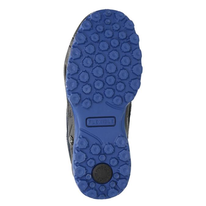 Dětská zimní obuv mini-b, modrá, 293-9614 - 19
