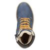 Dětská zimní obuv se zateplením mini-b, modrá, 496-9620 - 15