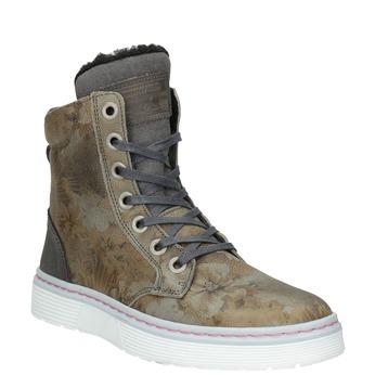 Dámská zimní obuv se zateplením bata, khaki, 596-2684 - 13