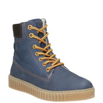 Dětská zimní obuv se zateplením mini-b, modrá, 496-9620 - 13