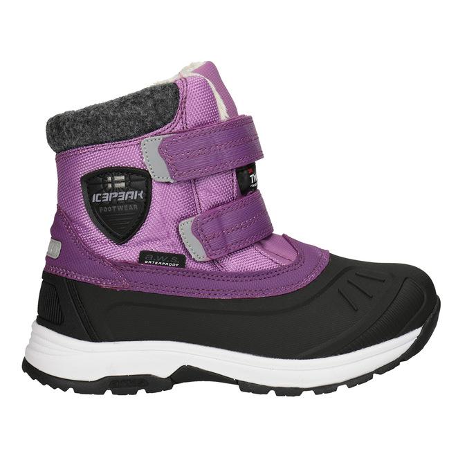 Fialové dívčí sněhule icepeak, fialová, 399-5018 - 26