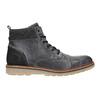 Kožená pánská kotníčková obuv bata, šedá, 896-2669 - 26