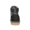 Kožená pánská kotníčková obuv bata, šedá, 896-2669 - 16